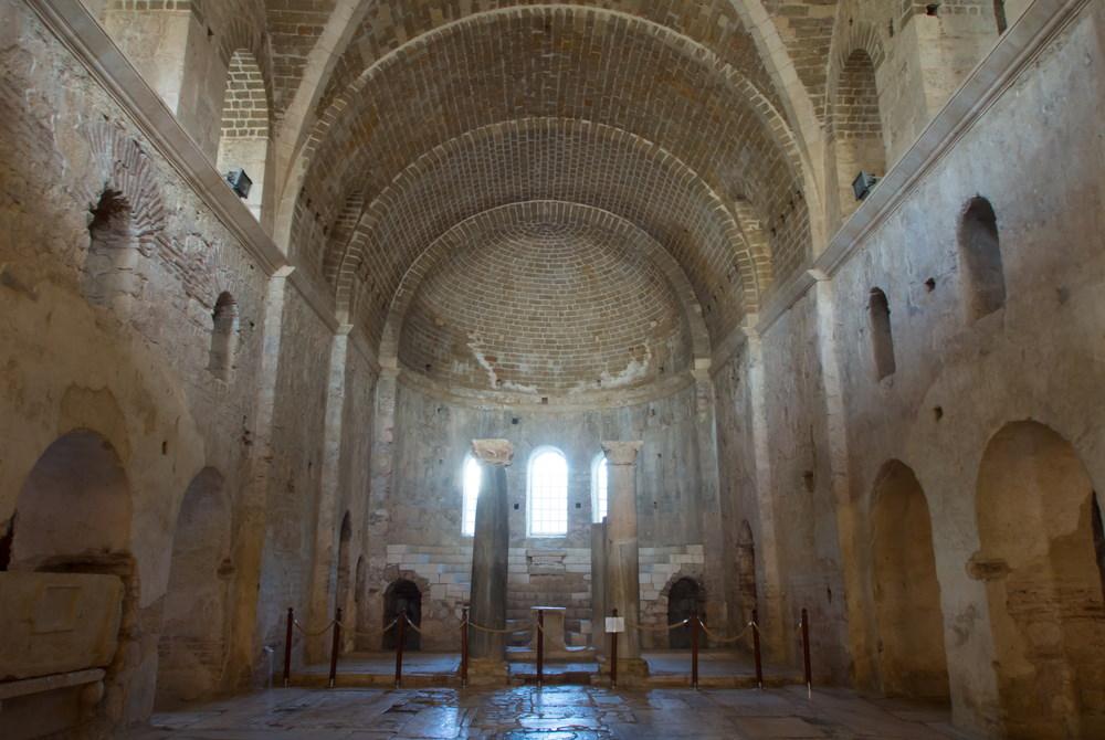 St Nicholaos Myra Church in Demre in Antalya in Turkey