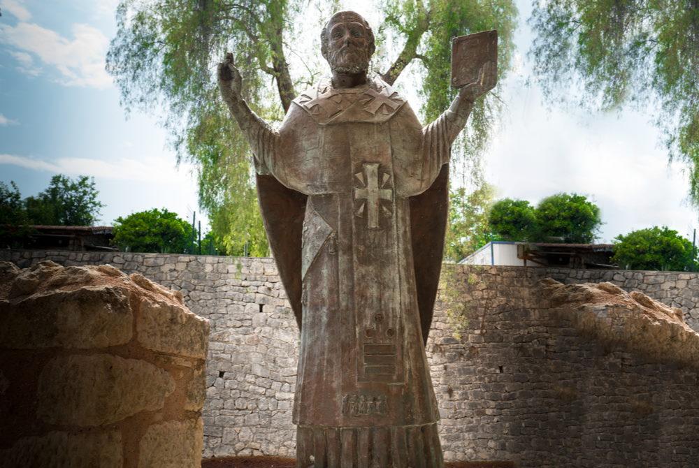St Nicholaos of Myra in Antalya in Turkey