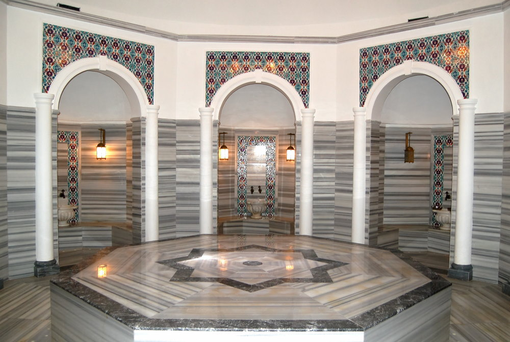turkish bath experience in antalya in turkey
