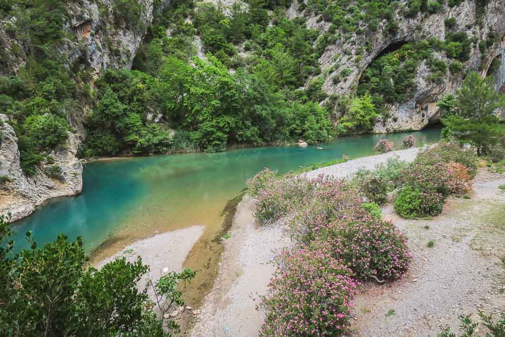 Alara River Rafting is possible in Spring