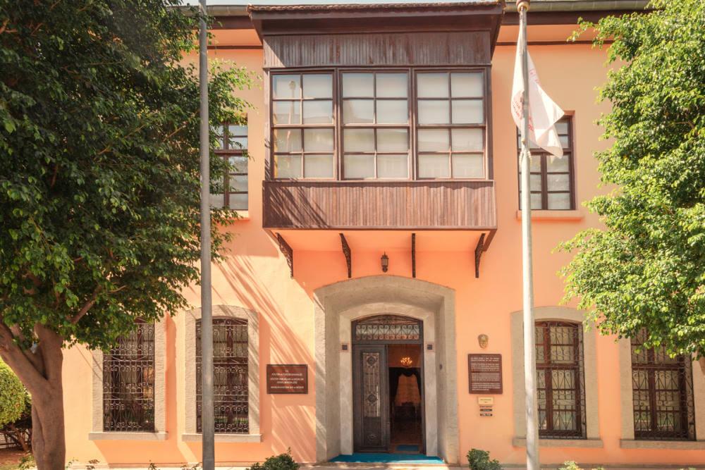 Atatürk House Museum in Antalya in Turkey