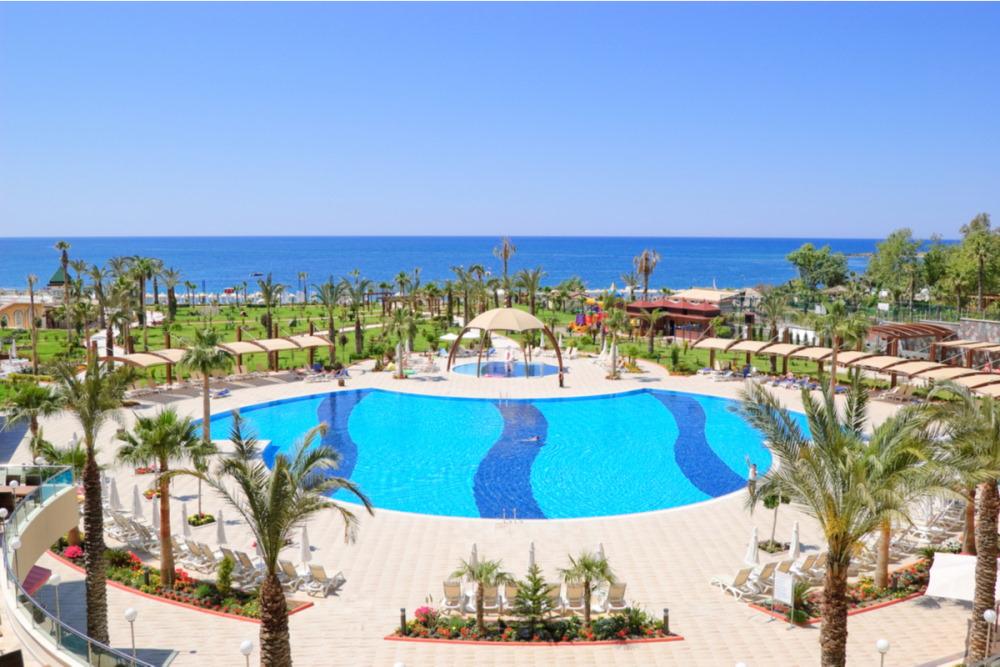 Beach Resorts in Antalya in Turkey
