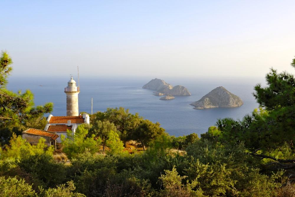 Beş Adalar in Antalya in Turkey