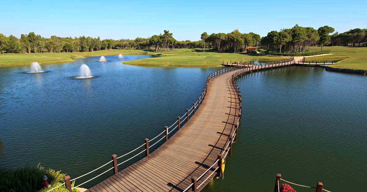 Best Golf Courses of Antalya in Turkey