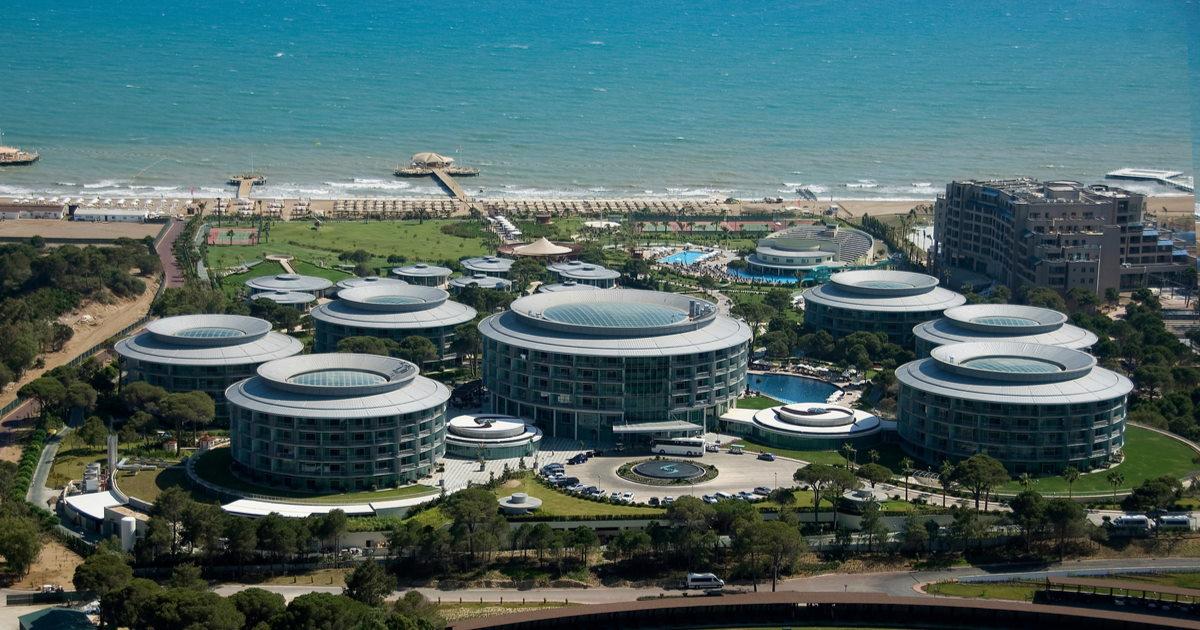 Best Golf Hotels in Antalya in Turkey