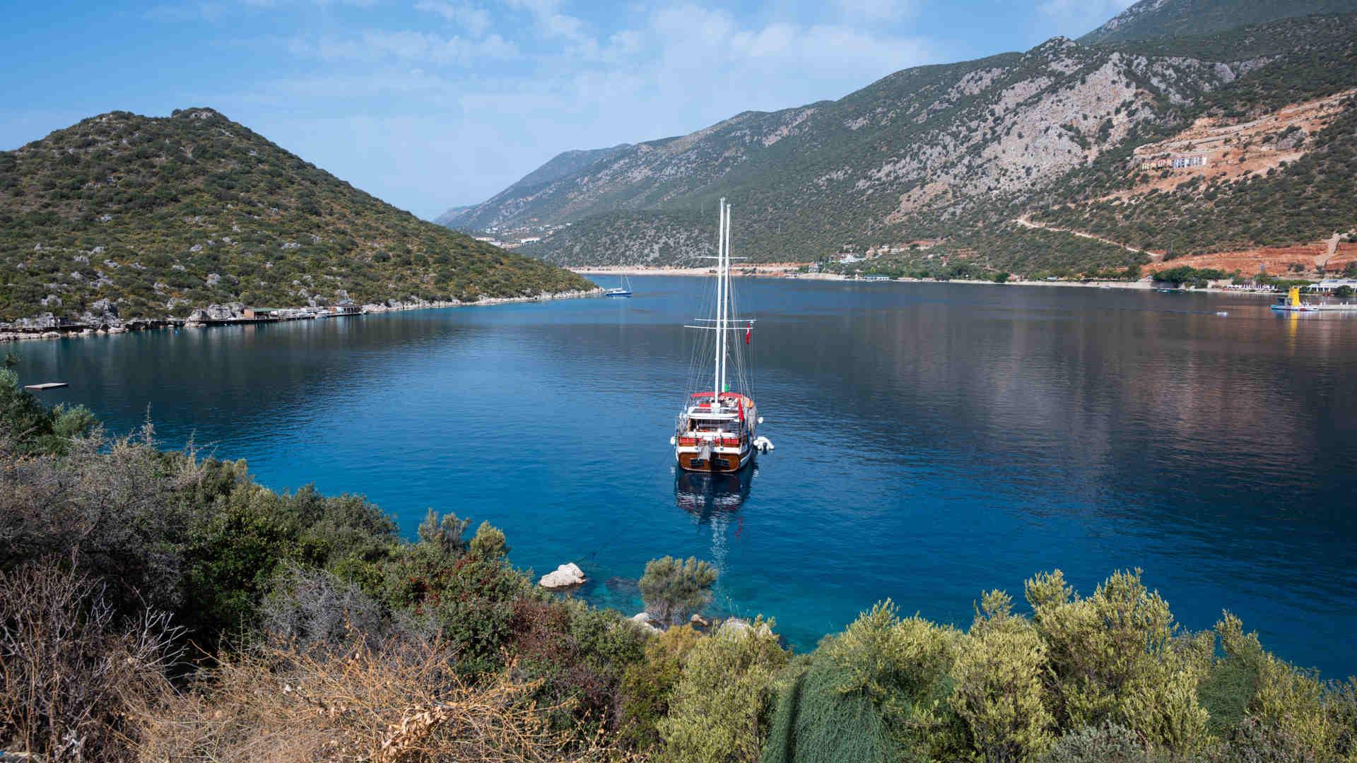 Boot & Bike Cruise in Antalya in Turkey