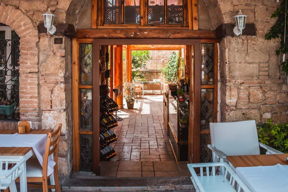 Boutique Hotel in Kaleici in Antalya in Turkey