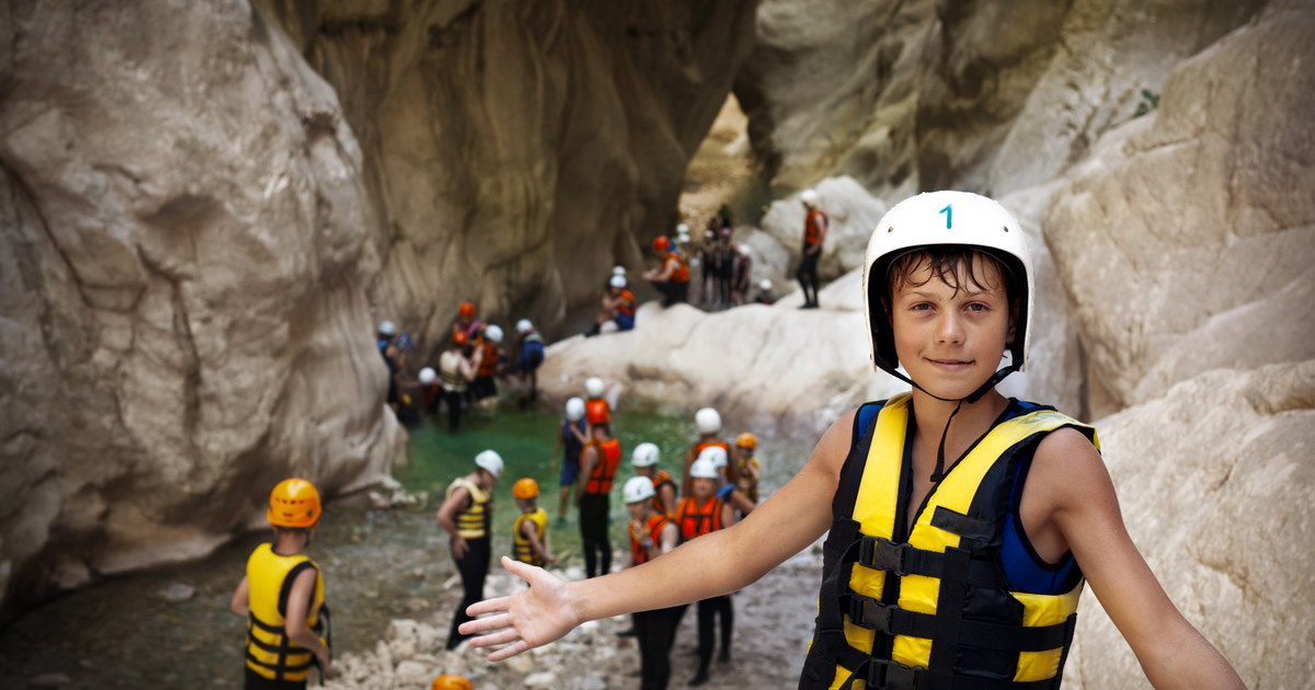 Canyoning in Antalya