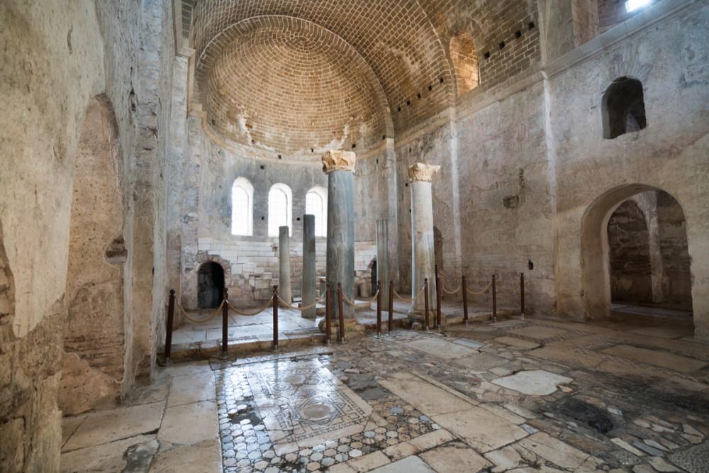 Church of St. Nicholas at Myra in Antalya in Turkey