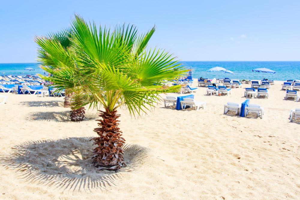 Cleopatra Beach in Antalya in Turkey