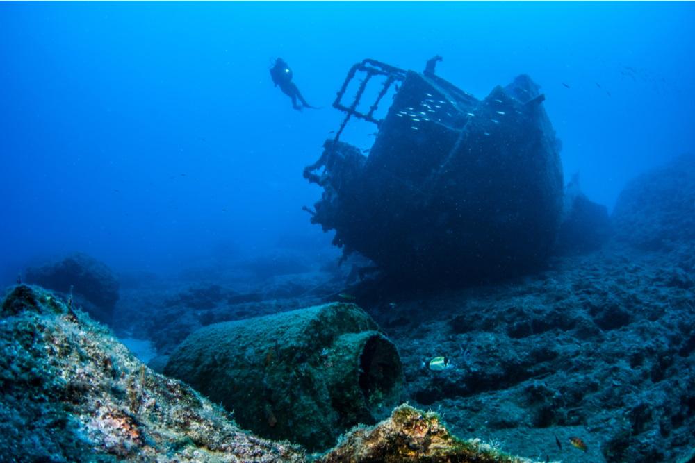 Diving in Antalya in Turkey