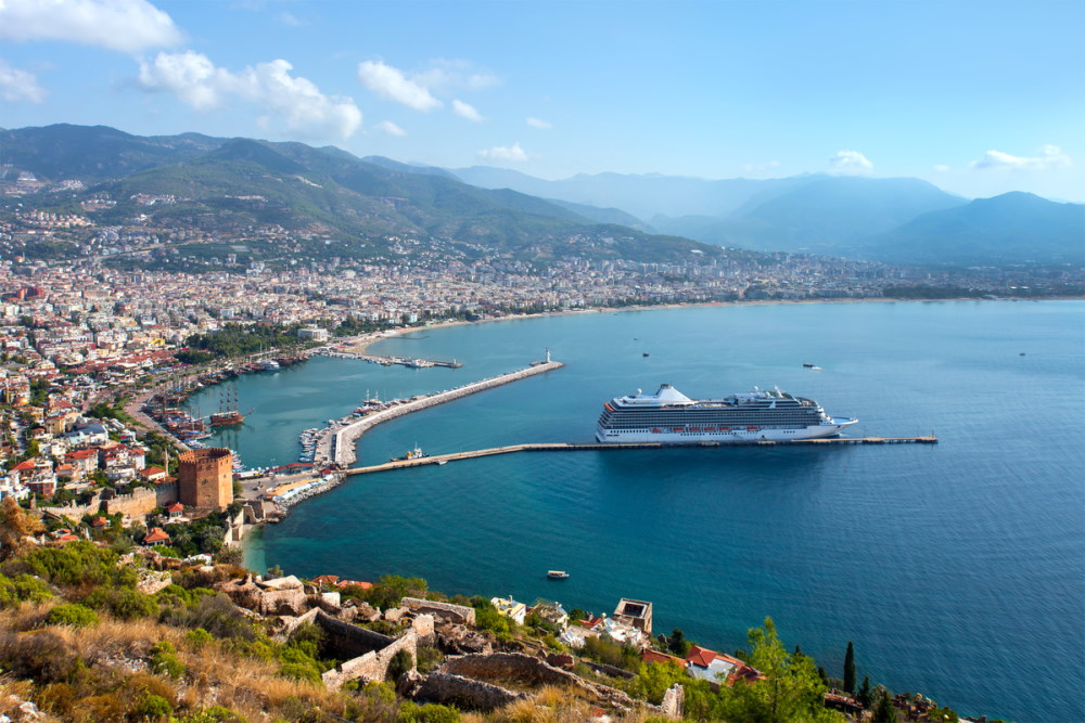 Enter Turkey with a Cruise Ship or Yacht