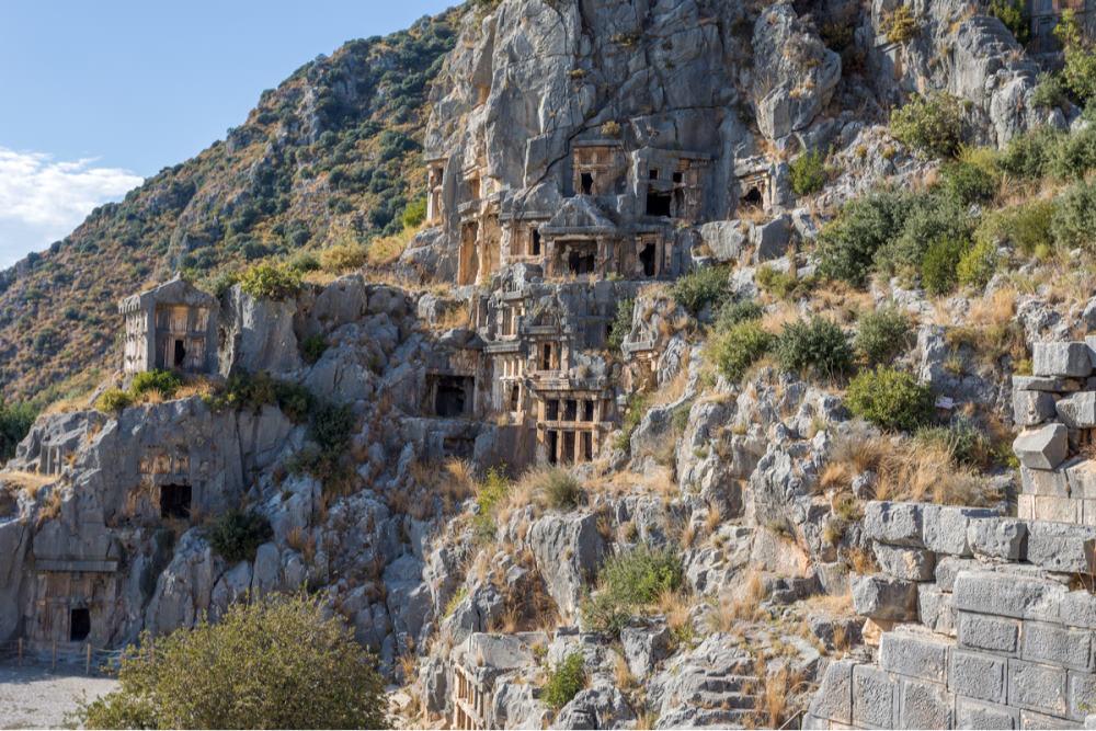 Excursion to Myra in Antalya in Turkey