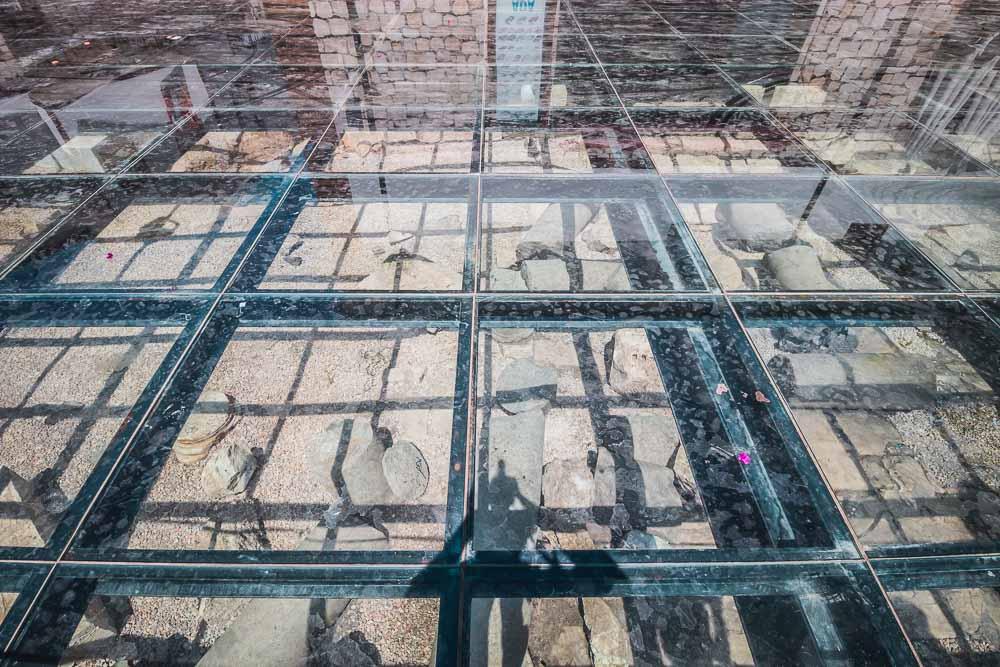 Glas Floor in Side in Antalya in Turkey