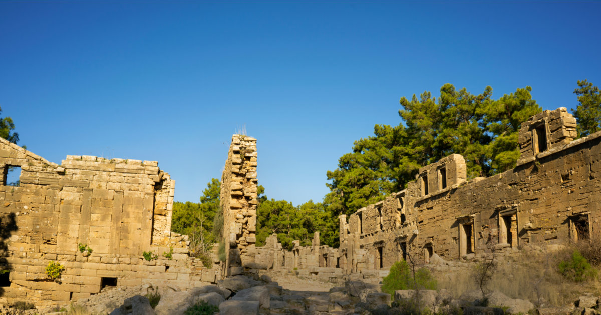 Guide to Lyrbe Ancient Site in Antalya
