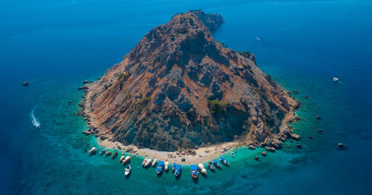 Guide to Suluada Island in Antalya