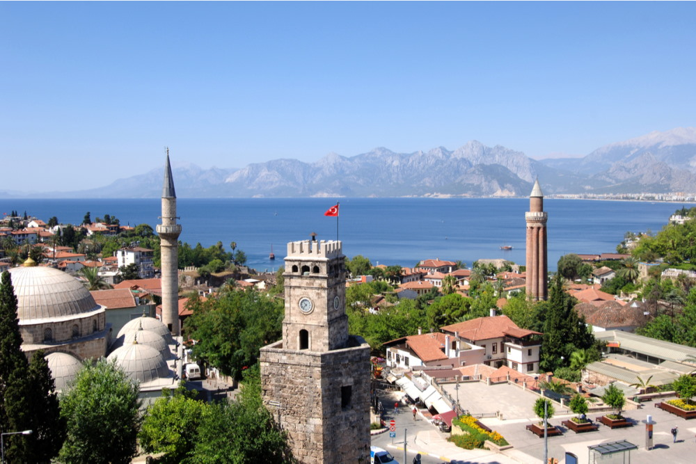 Yivliminare Mosque in Antalya in Turkey 1