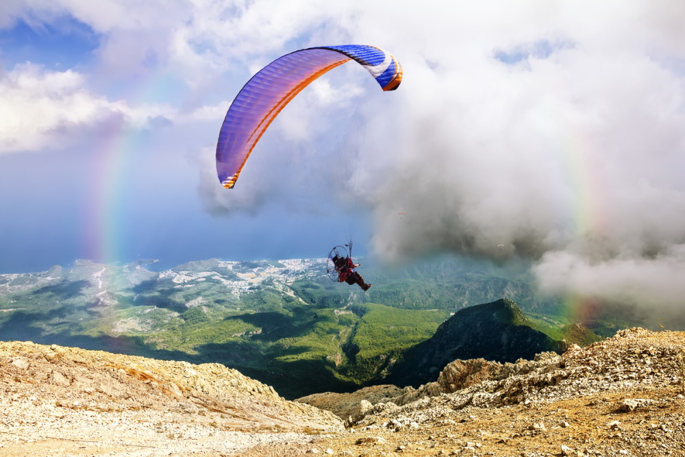 How to book Tandem-Paragliding in Antalya