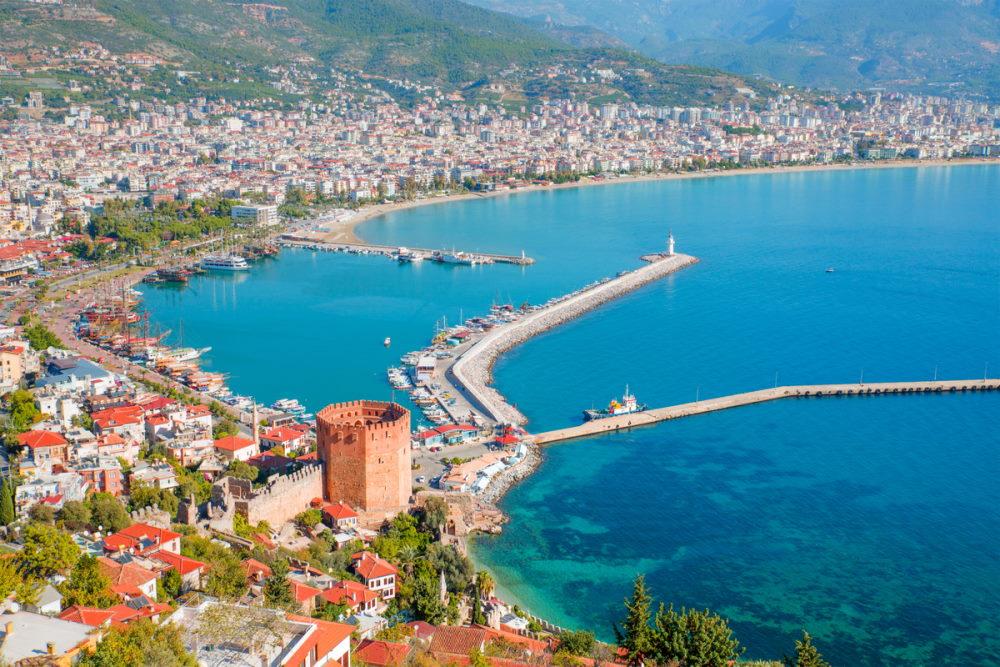 Kızıl Kule in Antalya in Turkey
