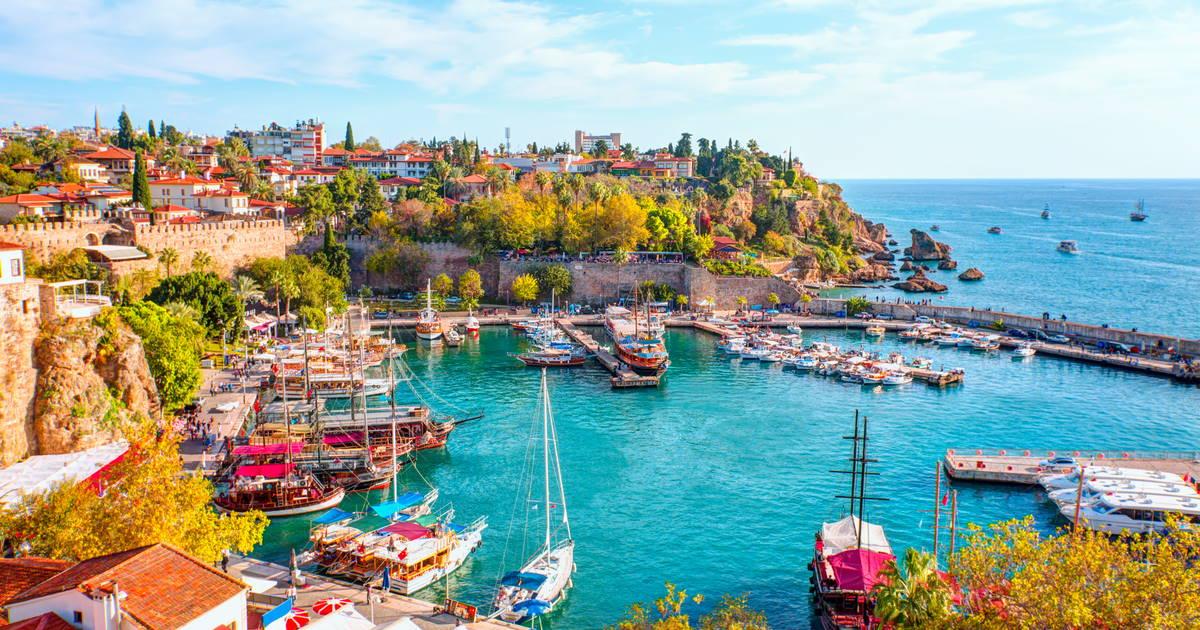 Kaleici in Antalya in Turkey