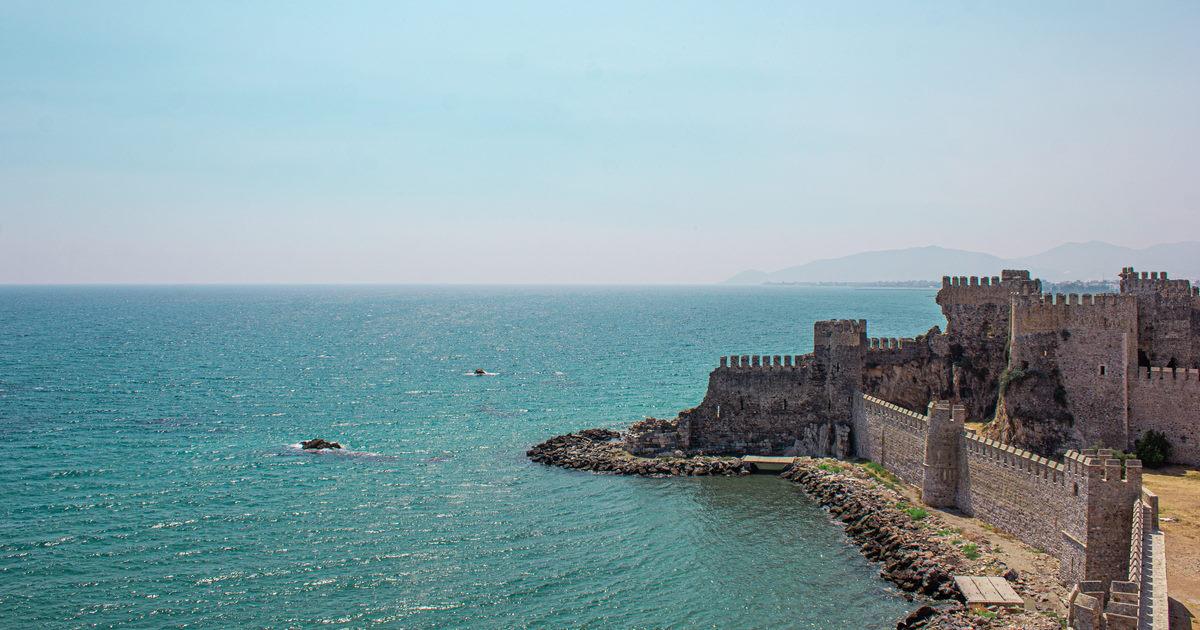 Mamure Castle Anamur -Castle in Mersin in Turkey