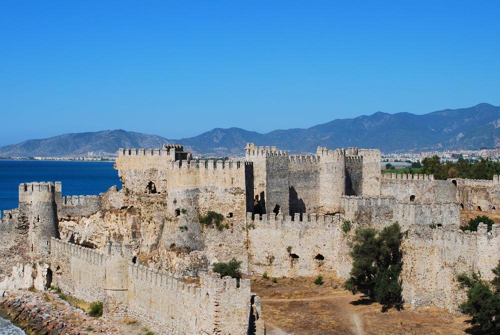 Mamure Castle - Anamur -Castle in Mersin in Turkey