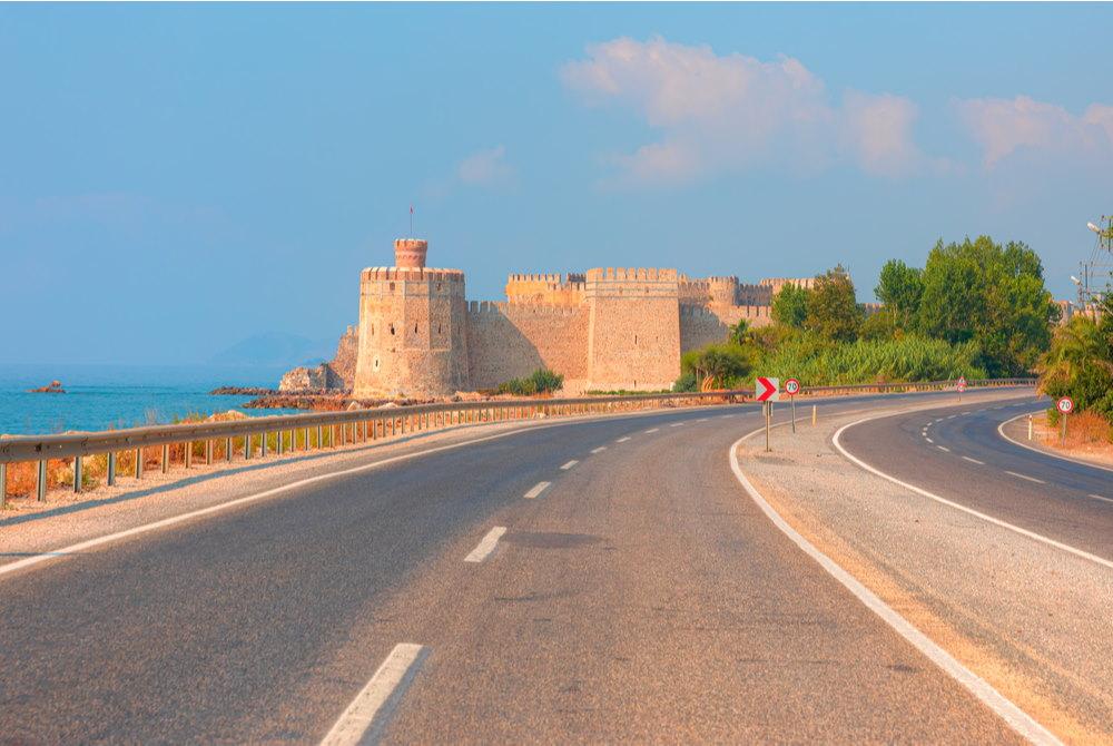 Mamure Castle - in Anamur in Turkey