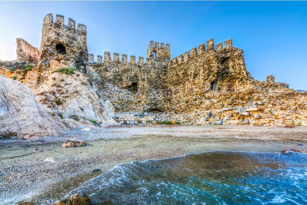Mamure Castle in Anamur - Mersin -in Turkey