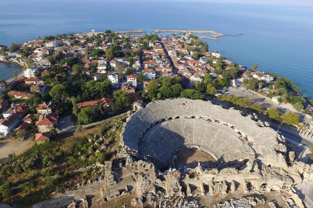 More ancient Ruins in Antalya in Turkey