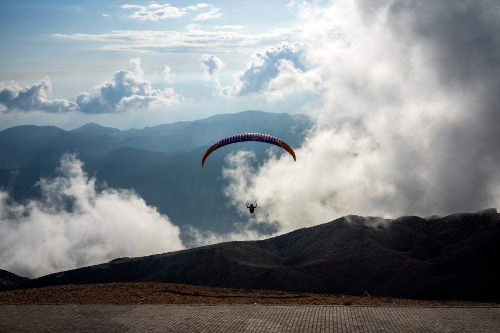 Mount Olympos in Antalya in Turkey