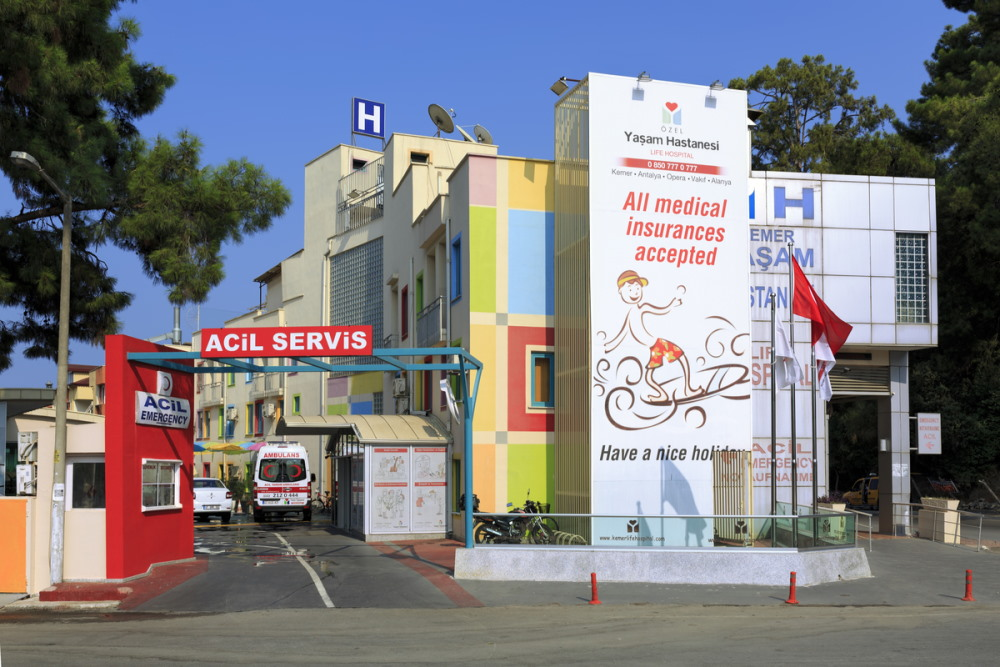 Private Clinics in Antalya province