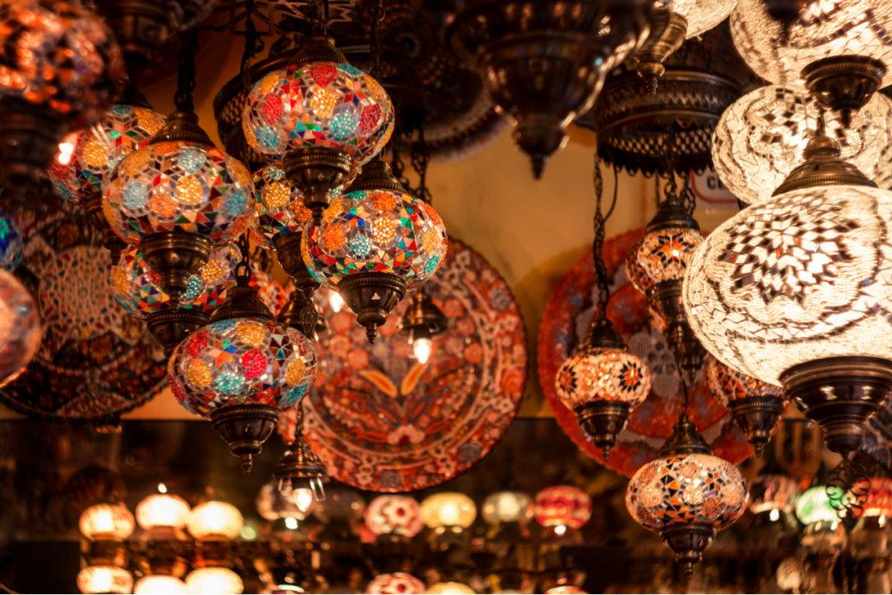 Product Piracy at the Bazaar in Antalya Turkey