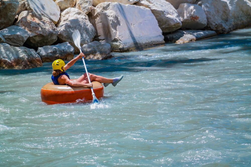 Rafting in Saklikent in Antalya Turkey