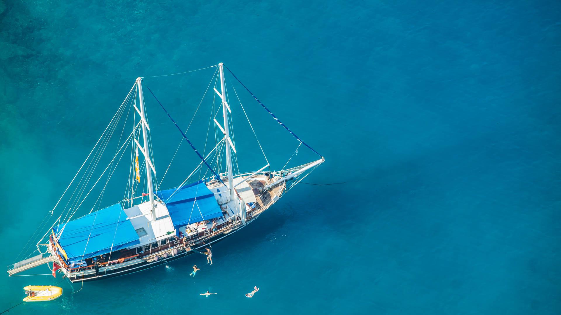 Sail, Swim and Sun in Antalya in Turkey