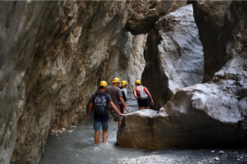 Saklikent Canyon in Antalya in Turkey
