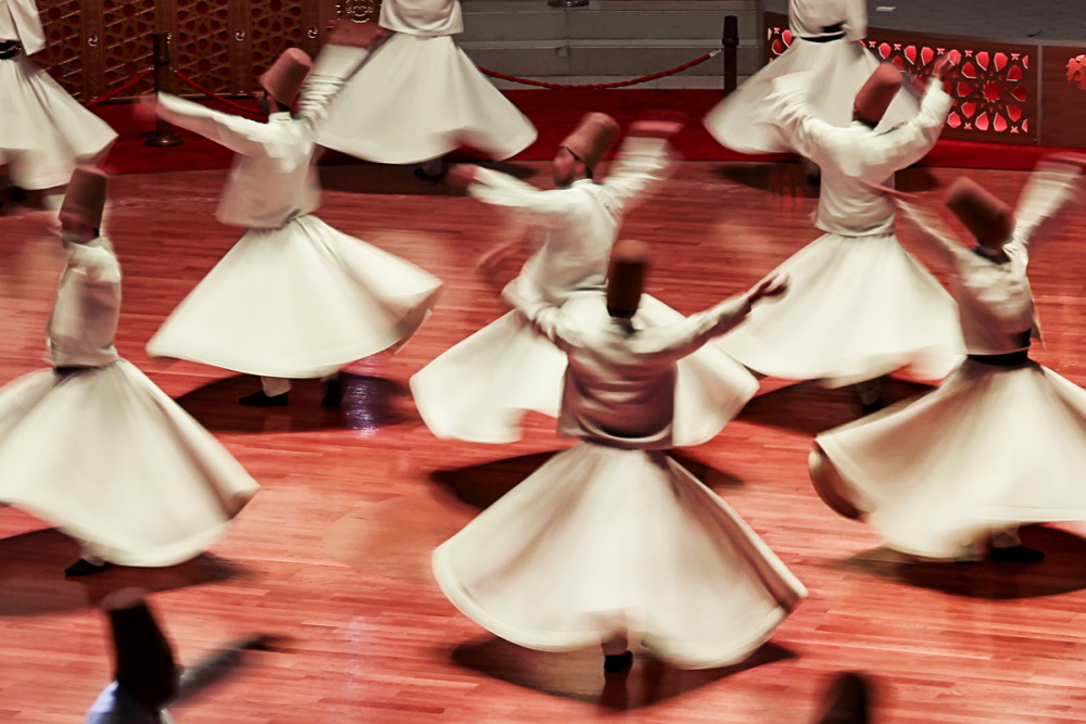 Semazen in Turkey