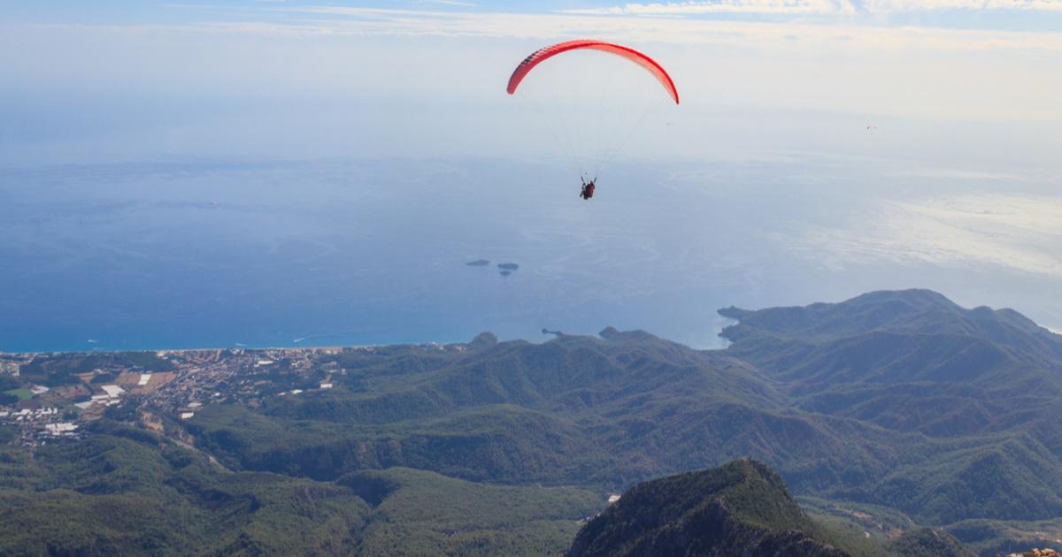 Tandem Paragliding in Antalya in Turkey