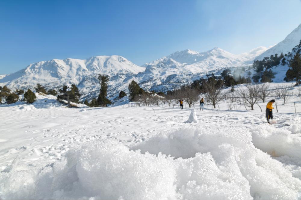 Taurus Mountains in Saklikent in Antalya