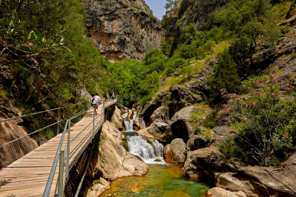 The Sapadere canyon in the Taurus mountains in Alanya in Turkey by Thomas