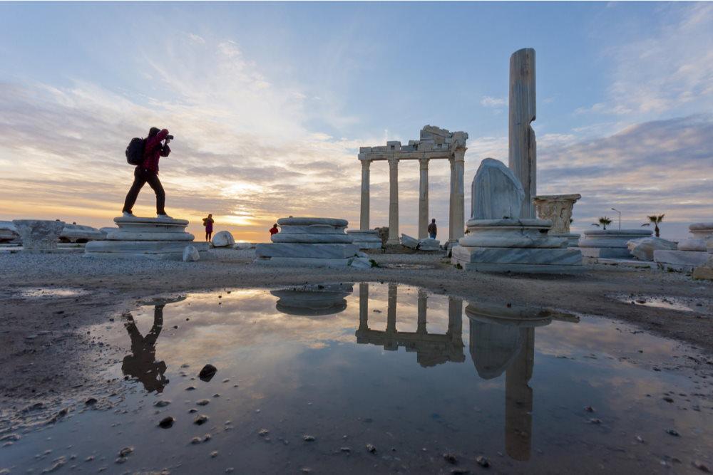 The Temple of Apollo, Side in Antalya Turkey