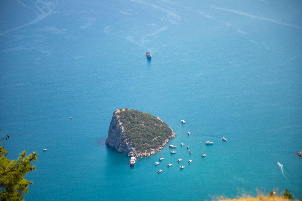Turtle Island in Antalya in Turkey
