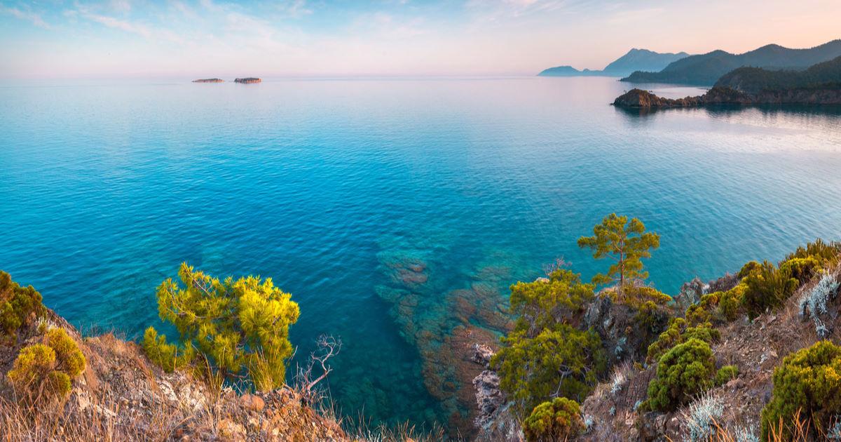 Visit Uç Adalar (Three Islands) in Kemer in Antalya