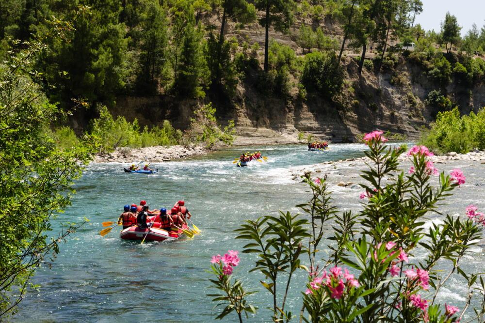 Where can I book Rafting in Antalya in Turkey