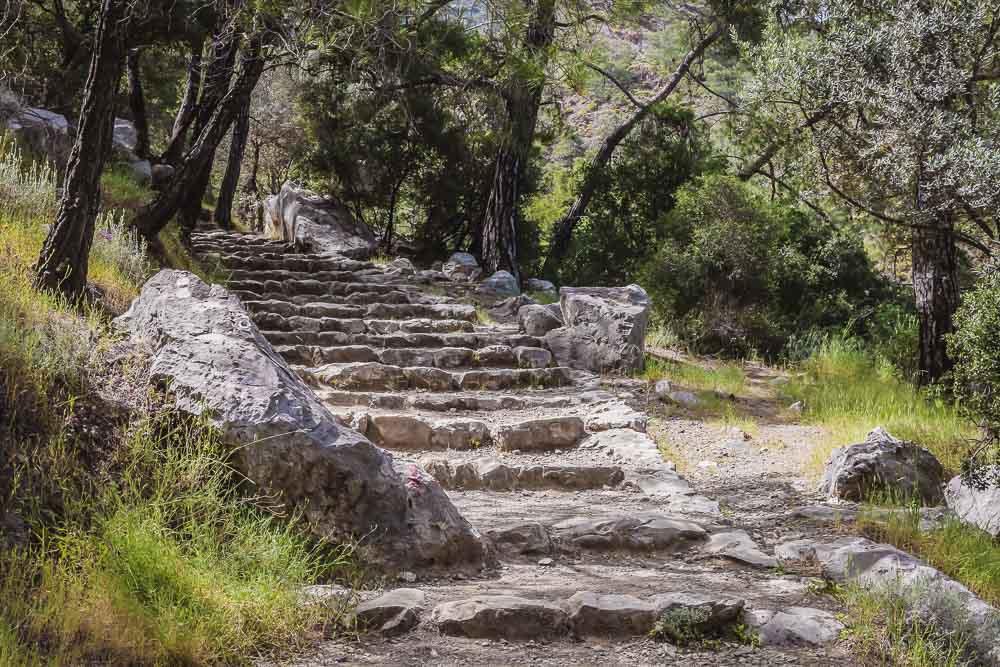 Yanartas Chimaira in Cirali in Antalya in Turkey by Thomas