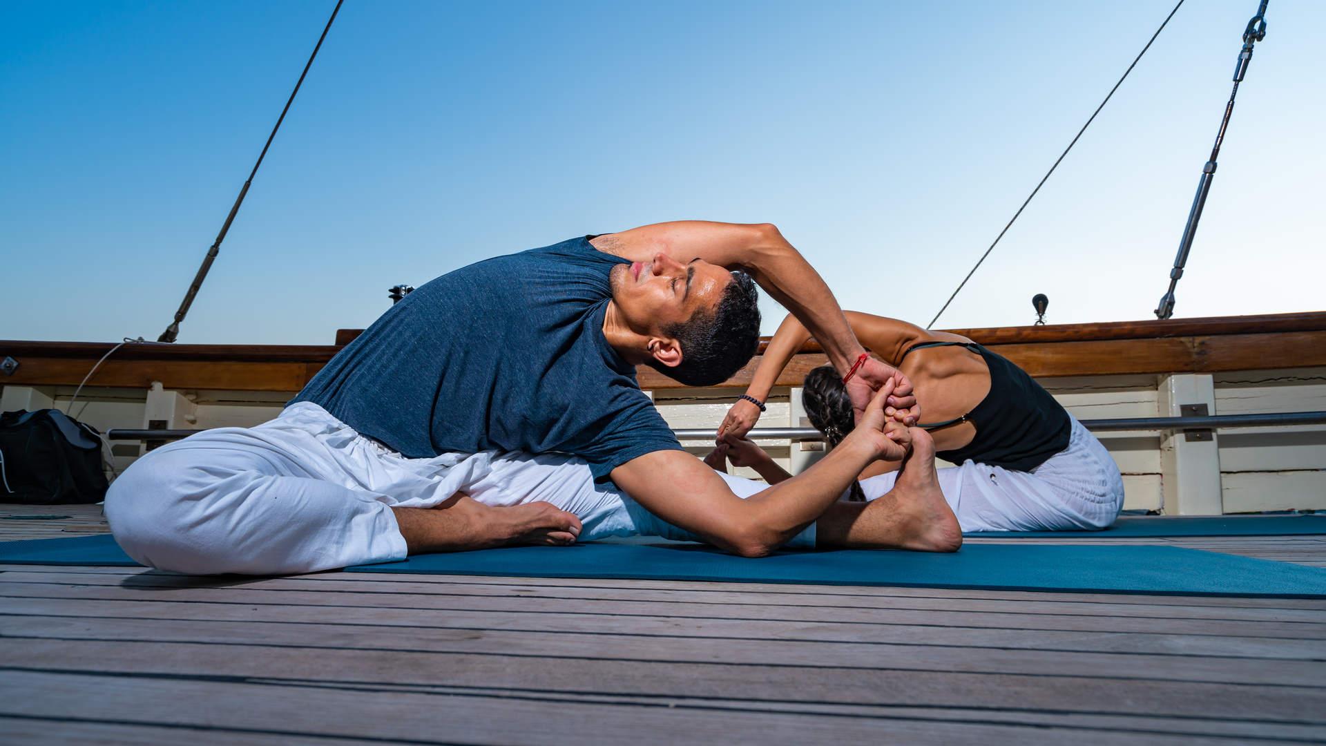 Yoga Blue Cruise in Antalya in Turkey