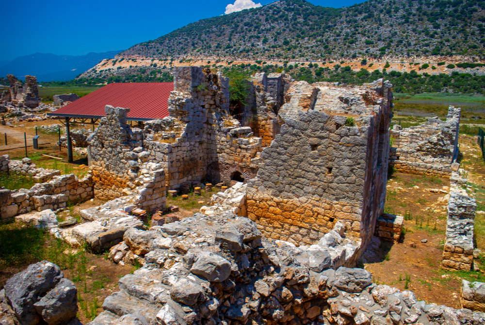 Andriake ancient city in Antalya in Turkey