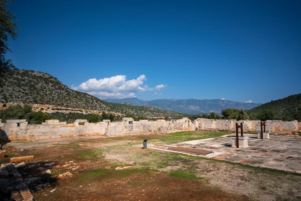 Andriake ancient city in Demre in Antalya in Turkey
