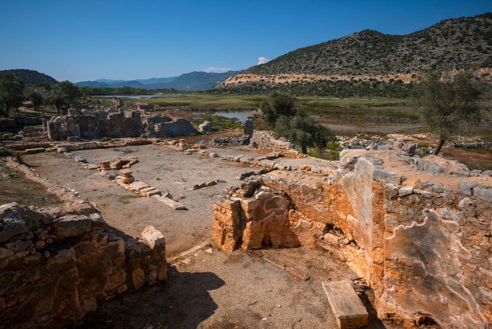 Andriake-ancient site in Antalya in Turkey