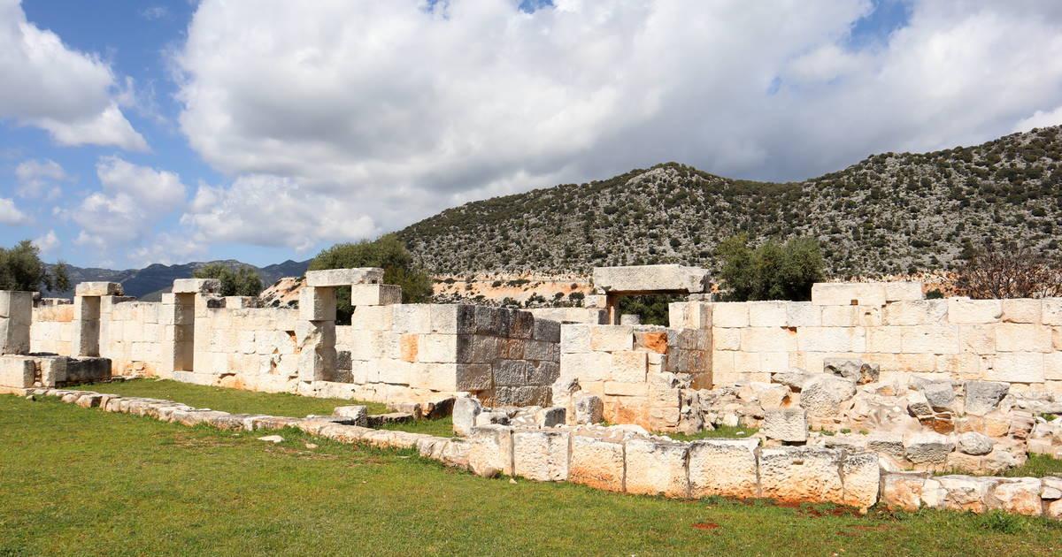 Andriake ancient site in Antalya in Turkey
