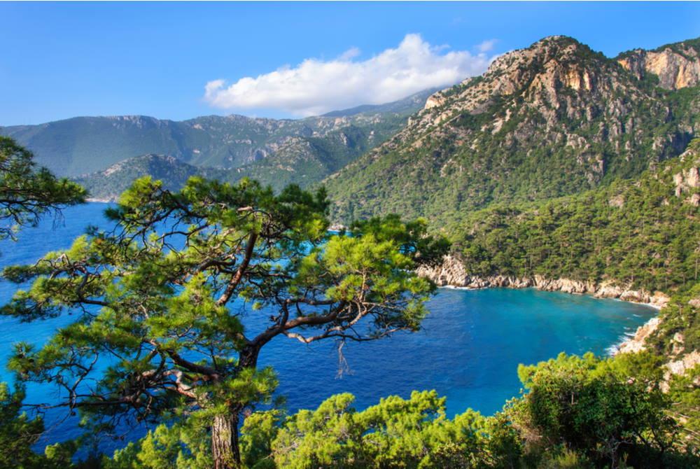 Cape Gelidonya- in Antalya in Turkey